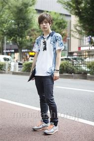 ファッションコーディネート原宿・表参道 2013年08月 ヒカルさん