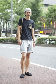 ファッションコーディネート原宿・表参道 2013年08月 コウディーさん