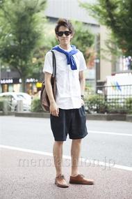 ファッションコーディネート原宿・表参道 2013年08月 こがけんさん