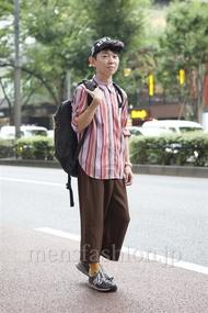 ファッションコーディネート原宿・表参道 2013年08月 前田晟一朗さん