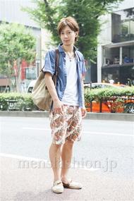 ファッションコーディネート原宿・表参道 2013年08月 新田快広さん