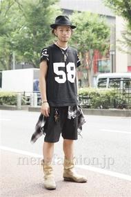 ファッションコーディネート原宿・表参道 2013年08月 小林綾太さん