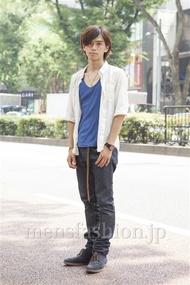 ファッションコーディネート原宿・表参道 2013年08月 小西 涼さん