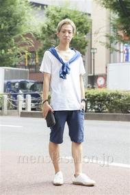 ファッションコーディネート原宿・表参道 2013年08月 こーきさん