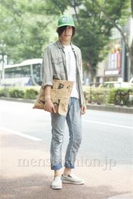 ファッションコーディネート原宿・表参道 2013年08月 北向達也さん