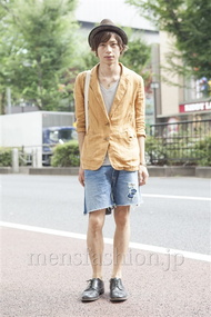 ファッションコーディネート原宿・表参道 2013年08月 大木光さん