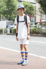 ファッションコーディネート原宿・表参道 2013年08月 上口颯也さん