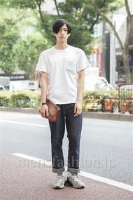 ファッションコーディネート原宿・表参道 2013年08月 加藤康貴さん