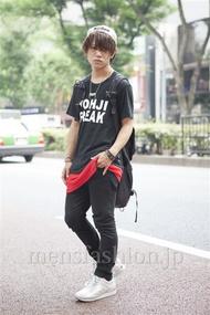 ファッションコーディネート原宿・表参道 2013年08月 夏川登志郎さん