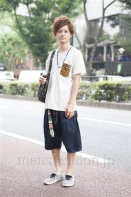 ファッションコーディネート原宿・表参道 2013年08月 村上広太さん