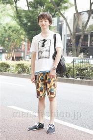 ファッションコーディネート原宿・表参道 2013年08月 タカノリさん
