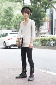 ファッションコーディネート原宿・表参道 2013年08月 わたむん。さん