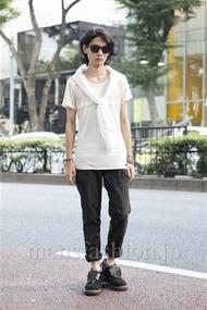 ファッションコーディネート原宿・表参道 2013年08月 藤木亮介さん