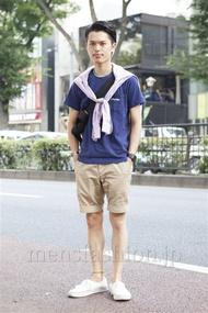 ファッションコーディネート原宿・表参道 2013年08月 青山清志さん