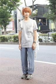 ファッションコーディネート原宿・表参道 2013年08月 山崎悠平さん