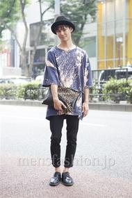 ファッションコーディネート原宿・表参道 2013年08月 小原教宏さん