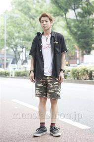 ファッションコーディネート原宿・表参道 2013年08月 フミヤさん