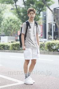 ファッションコーディネート原宿・表参道 2013年08月 岡崎 翼さん