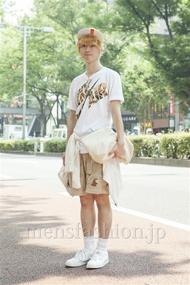 ファッションコーディネート原宿・表参道 2013年08月 中村雄樹さん