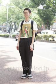 ファッションコーディネート原宿・表参道 2013年08月 斎藤章平さん
