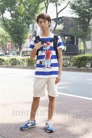 ファッションコーディネート原宿・表参道 2013年08月 品川 翔さん