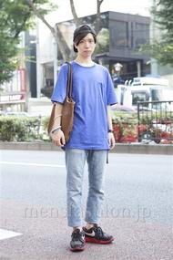 ファッションコーディネート原宿・表参道 2013年08月 内田 遼さん