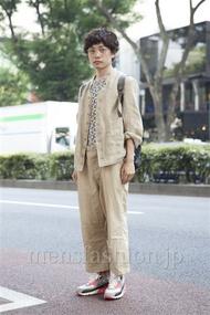 ファッションコーディネート原宿・表参道 2013年08月 井上貴弘さん