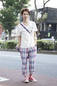 ファッションコーディネート原宿・表参道 2013年08月 浦辻大奨さん
