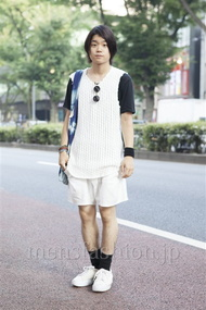 ファッションコーディネート原宿・表参道 2013年08月 石井俊伍さん