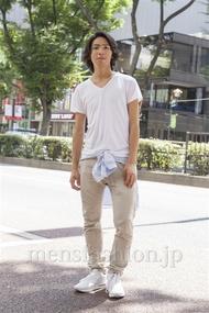 ファッションコーディネート原宿・表参道 2013年09月 服部大起さん