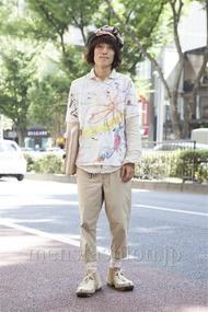 ファッションコーディネート原宿・表参道 2013年09月 カガラシュンさん