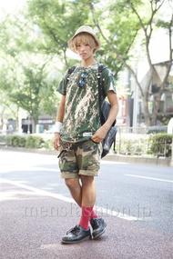 ファッションコーディネート原宿・表参道 2013年09月 池田飛鳥(あっすん)さん