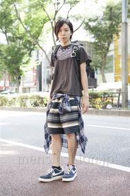 ファッションコーディネート原宿・表参道 2013年09月 青木健真さん