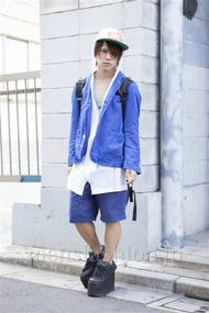 ファッションコーディネート原宿・表参道 2013年09月 夏川登志郎さん