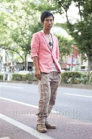 ファッションコーディネート原宿・表参道 2013年09月 シュンスケさん