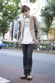 ファッションコーディネート原宿・表参道 2013年09月 住本大明さん