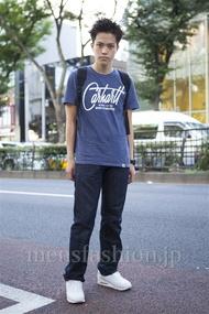 ファッションコーディネート原宿・表参道 2013年09月 増渕雄一さん