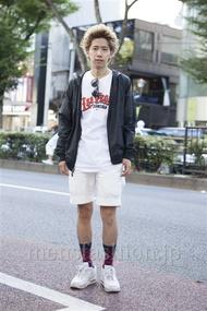 ファッションコーディネート原宿・表参道 2013年09月 松尾芳晴さん
