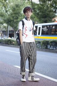 ファッションコーディネート原宿・表参道 2013年09月 浦辻大奨さん