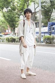 ファッションコーディネート原宿・表参道 2013年09月 高橋直斗さん