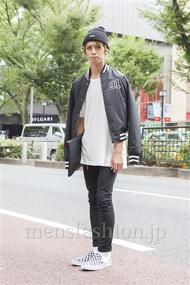 ファッションコーディネート原宿・表参道 2013年09月 上口颯也さん