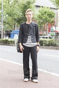 ファッションコーディネート原宿・表参道 2013年09月 こーきさん