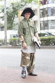 ファッションコーディネート原宿・表参道 2013年09月 nabescoさん