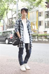 ファッションコーディネート原宿・表参道 2013年09月 名古屋優さん