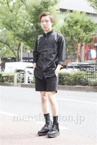 ファッションコーディネート原宿・表参道 2013年09月 アベヲさん
