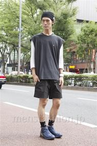 ファッションコーディネート原宿・表参道 2013年09月 くろさん