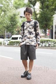 ファッションコーディネート原宿・表参道 2013年09月 大野ヨウさん