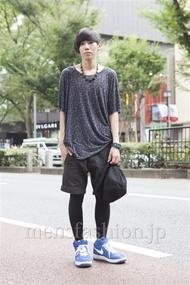 ファッションコーディネート原宿・表参道 2013年09月 鈴木誠希さん