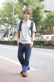 ファッションコーディネート原宿・表参道 2013年09月 川田晋吾さん