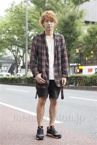 ファッションコーディネート原宿・表参道 2013年09月 宮下佳佑さん